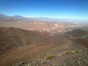 Valle del Arcoiris en el Desierto de Atacama